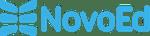 NovoEd Logo v4 - Blue (60x250)